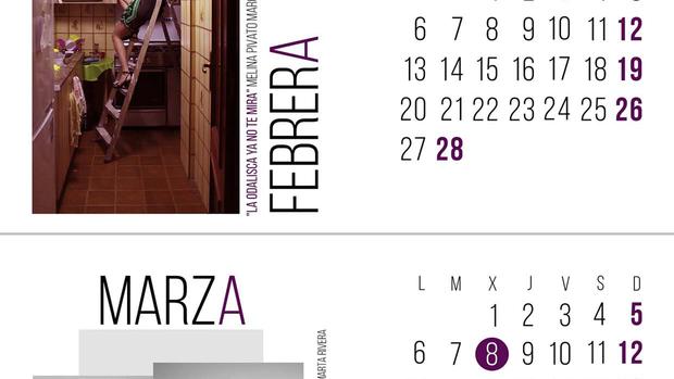 El calendario cambia al femenino el nombre de los meses