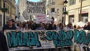 Málaga volverá a salir a la calle el próximo 12 de marzo «por una sanidad pública digna»