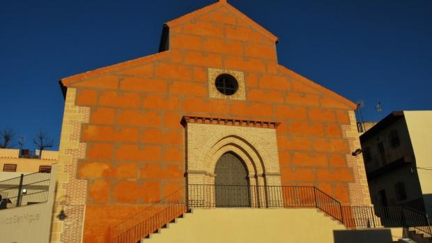 La iglesia de San Miguel conserva elementos del primitivo templo mudéjar