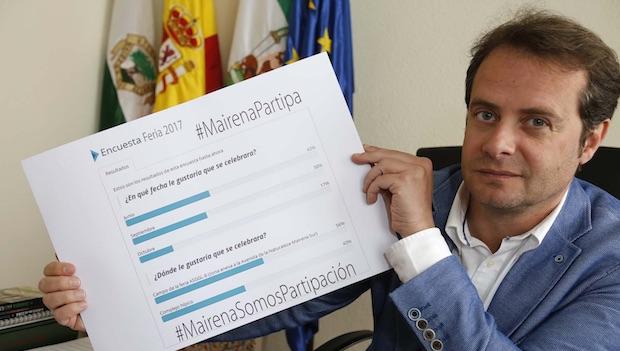 El alcalde se ha mostrado satisfecho por la implantación de la herramienta de consulta