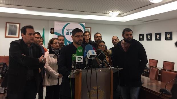 Francisco Martínez en rueda de prensa