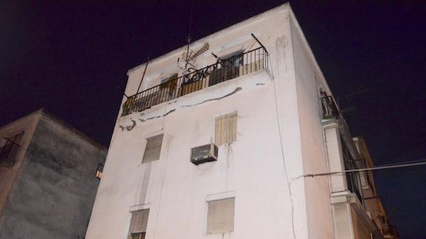 El joven vivía en el barrio de Santa Isabel en un piso sin ascensor