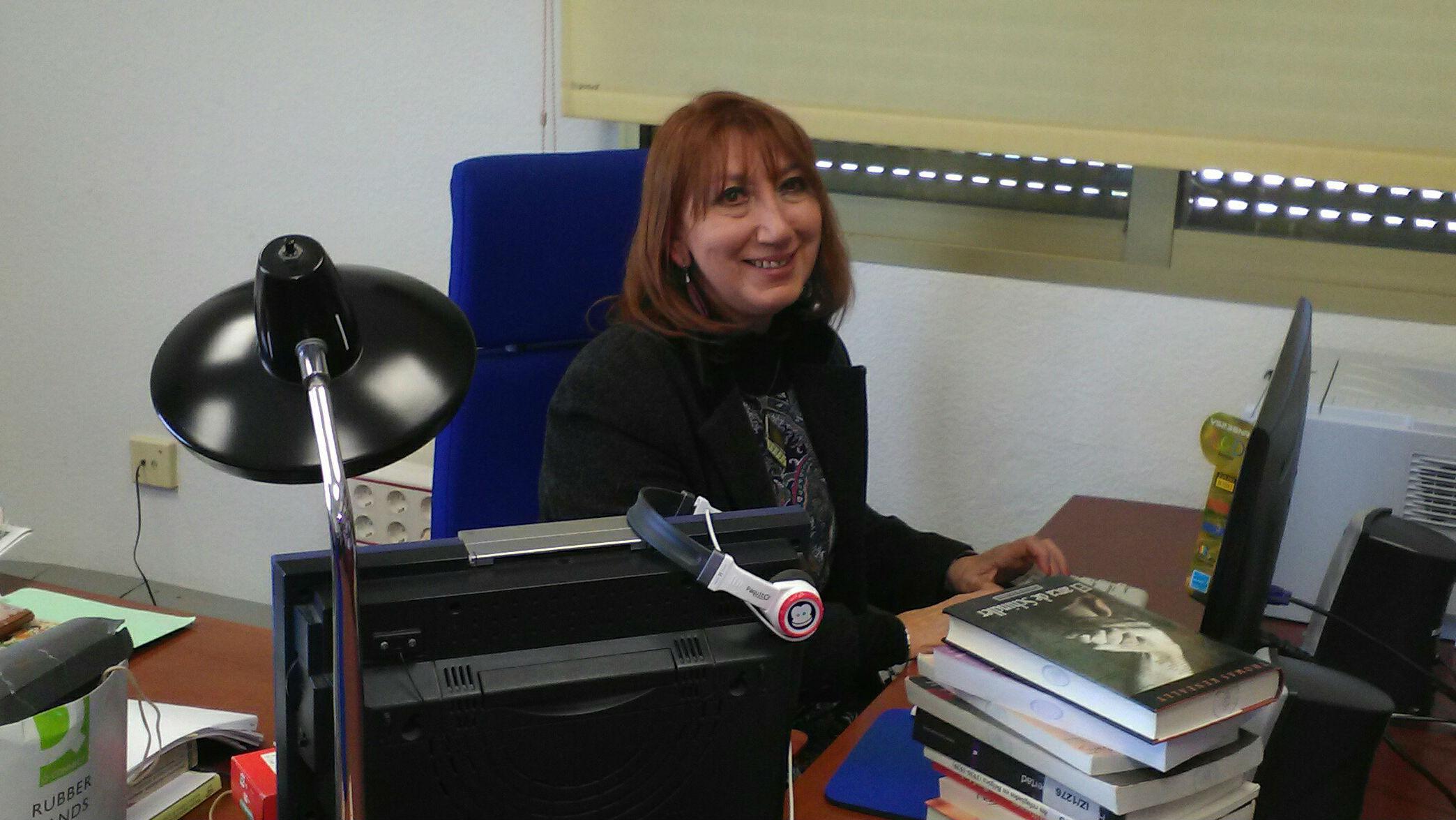María Dolores Ramos Palomo, en su despacho.