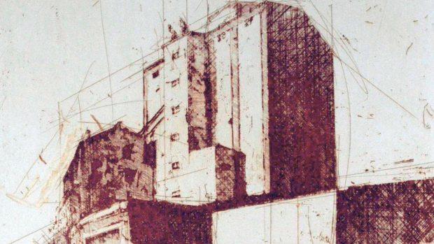 En la obra de Wenceslao Robles abundan los gradados de edificios industriales