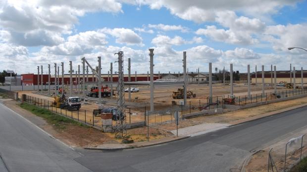 Las instalaciones tienen más de 10.000 metros cuadrados para el almacenamiento