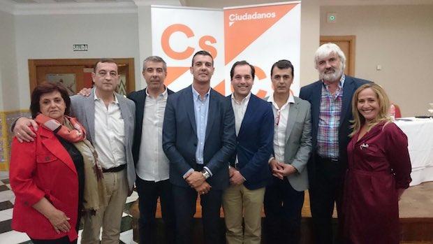 Nueva directiva de Ciudadanos en Marbella