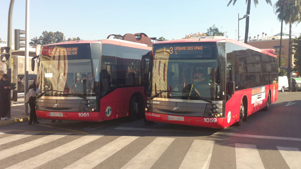Resultado de imagen de Transporte Urbano dos hermanas