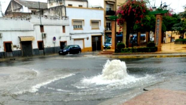 El pasado otoño la zona volvió a inundarse a pesar de las obras realizadas