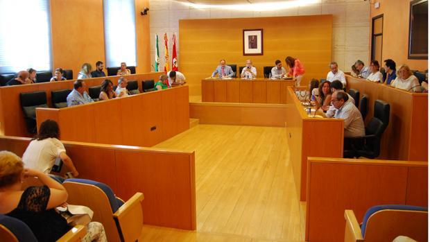Pleno del Ayuntamiento nazareno