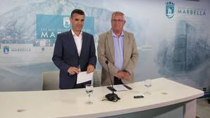 Los independentistas de San Pedro «subastan» la Alcaldía de Marbella