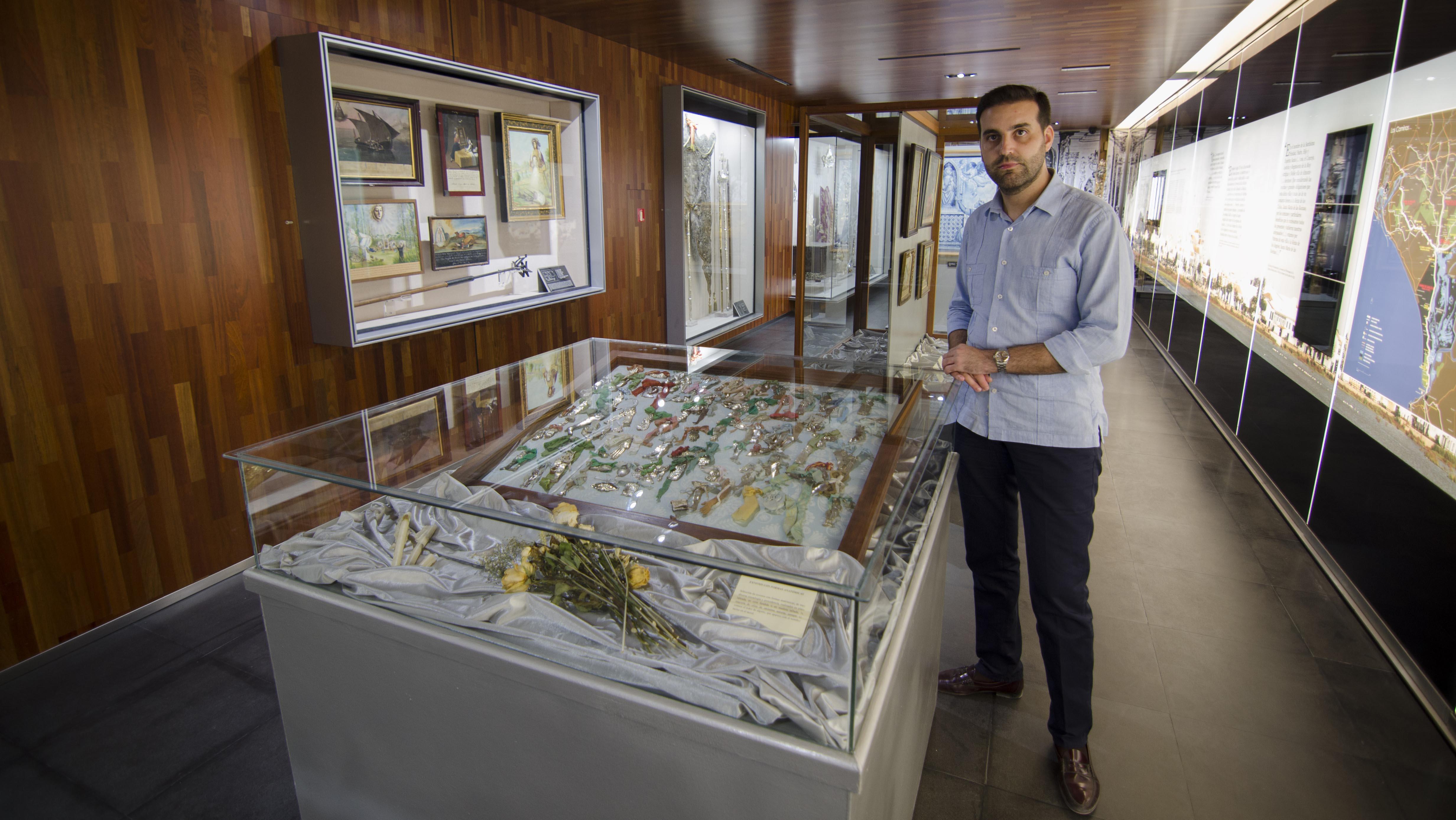 Manuel Galán, director del Museo Tesoro de la Hermandad Matriz de Almonte