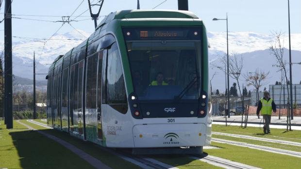 El metro de Granada sigue sin alcanzar los mínimos para poder entrar en funcionamiento
