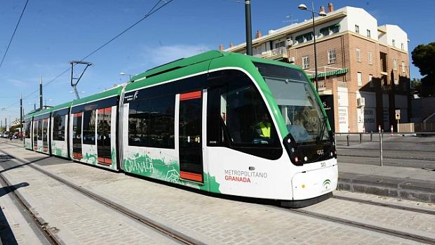 El metro de Granada continúa sin fecha de inauguración