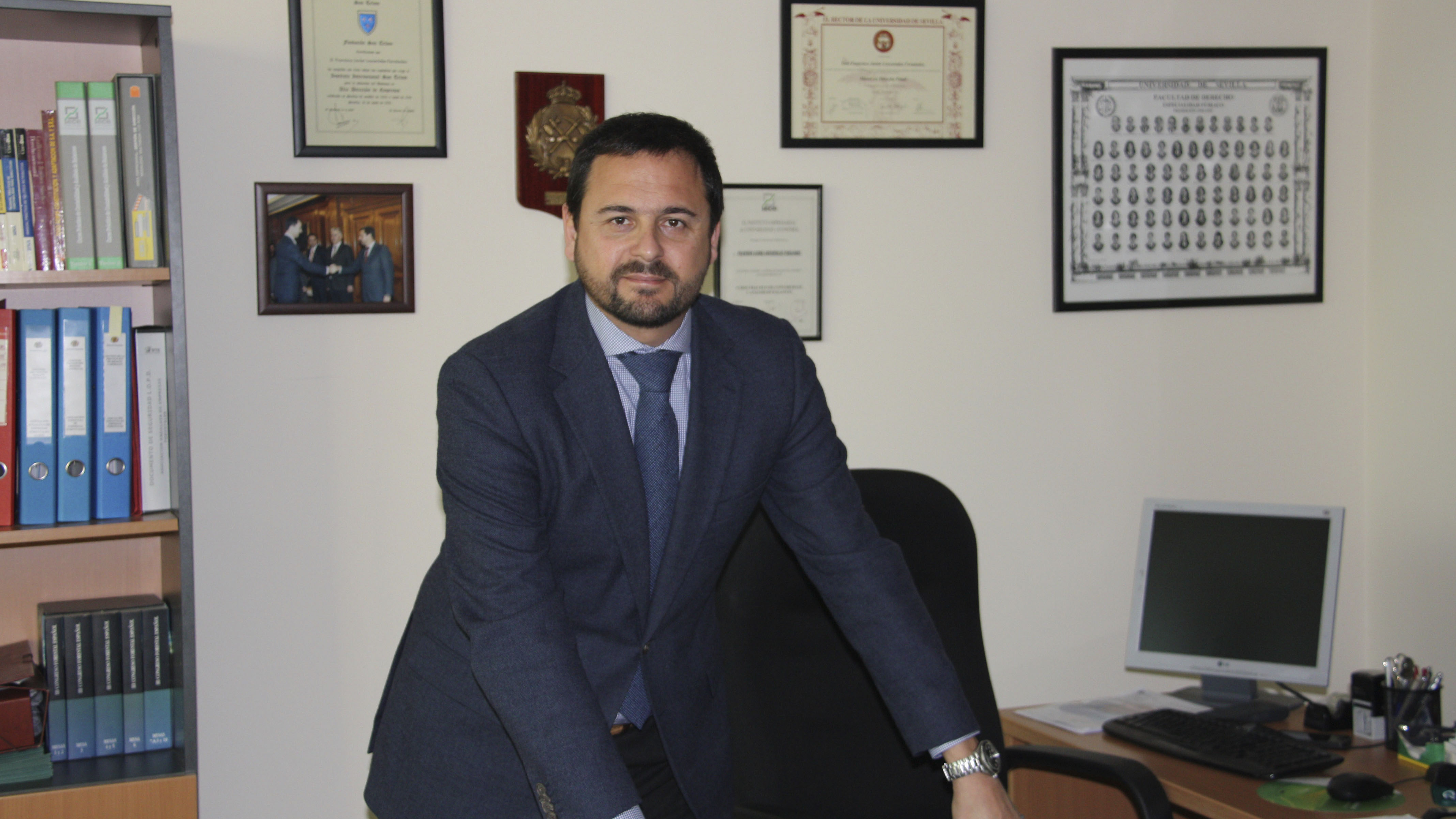Francisco Javier Loscertales, gerente de la Patronal Forestal en Andalucía