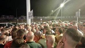 Huelga sorpresa de taxis en el arranque de la Feria de Málaga