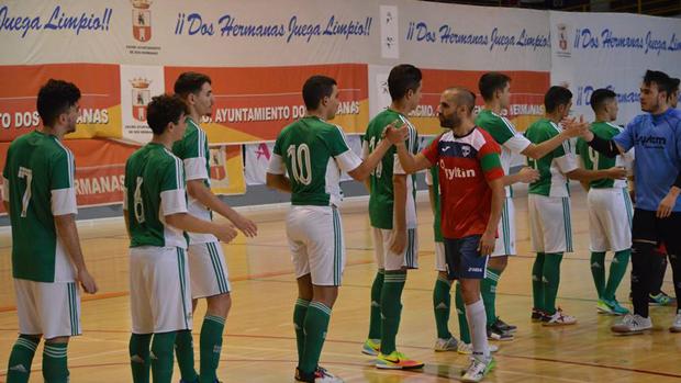 Primer equipo del club Fútbol Sala Nazareno / ABC