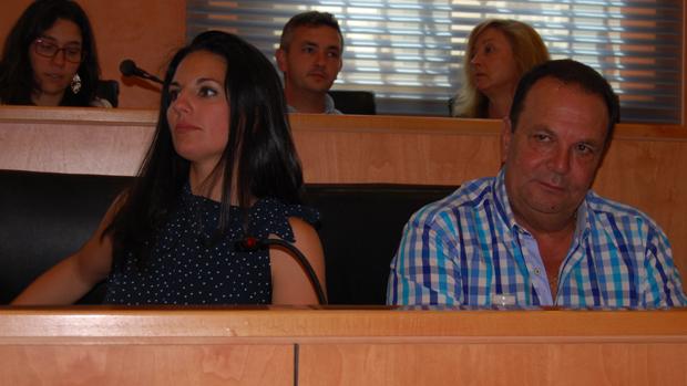 Ana González y Pedro Taborda, concejales de C's