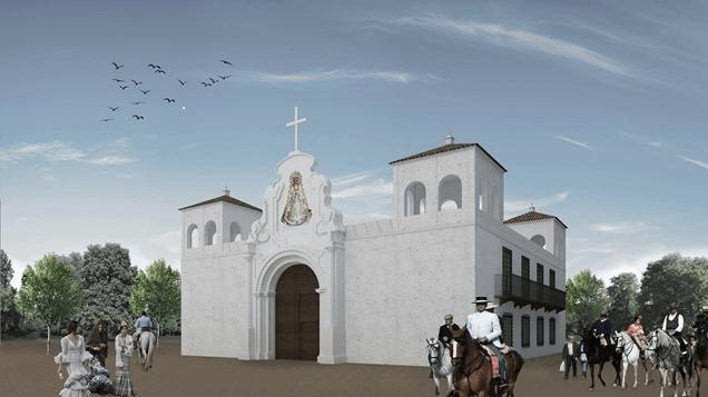 Proyecto de columbario para la aldea de El Rocío
