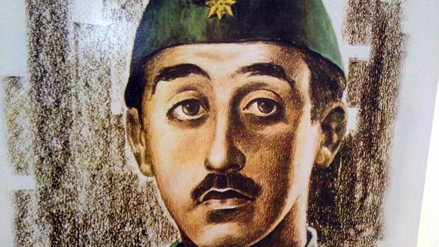 Retrato de Franco en sus tiempos de joven militar / ABC