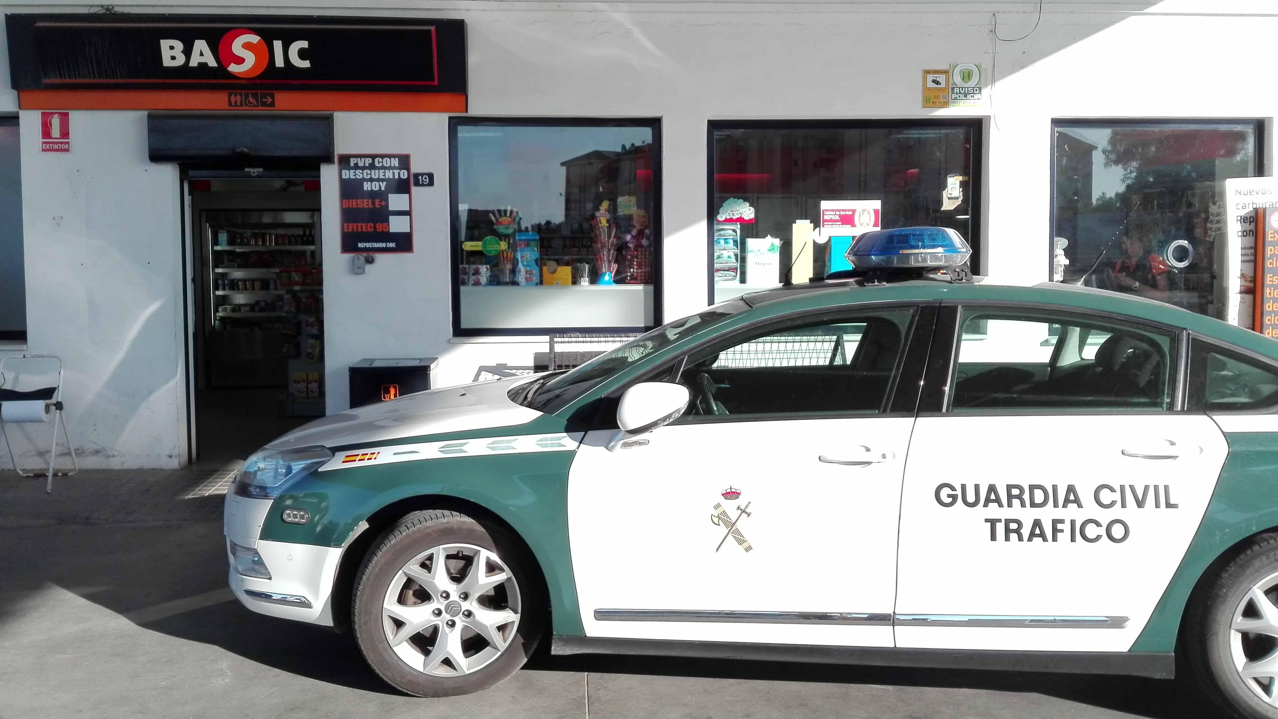El atraco ha tenido lugar en la gasolinera de Los Quintero de Utrera