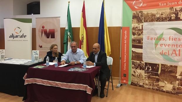 El acto de presentación tuvo lugar en San Juan de Aznalfarache
