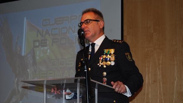 Francisco J. Vidal, comisario de Dos Hermanas