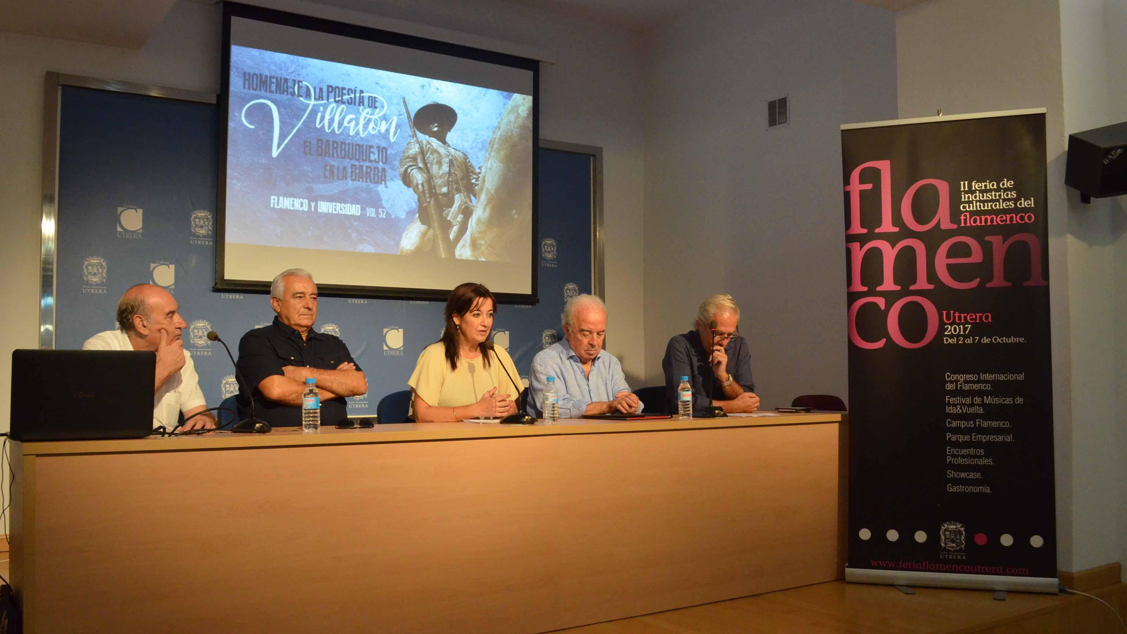 Los promotores de la iniciativa en la presentación del disco.
