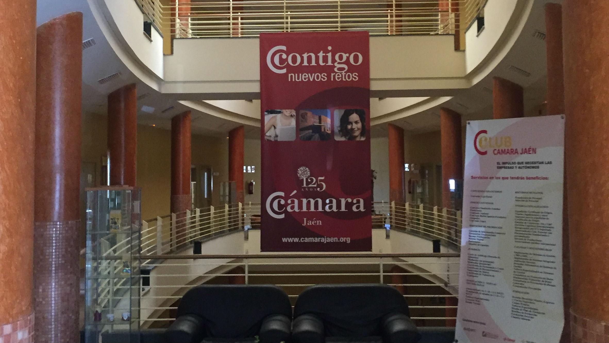 Interior de la Cámara Oficial de Comercio e Industria de Jaén