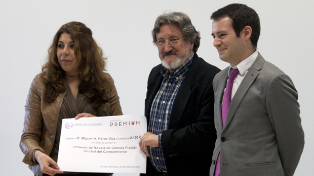 Entrega del premio en la anterior edición