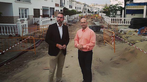 El ministro de Fomento, Íñigo de la Serna, este año en una visita a Granada por el AVE