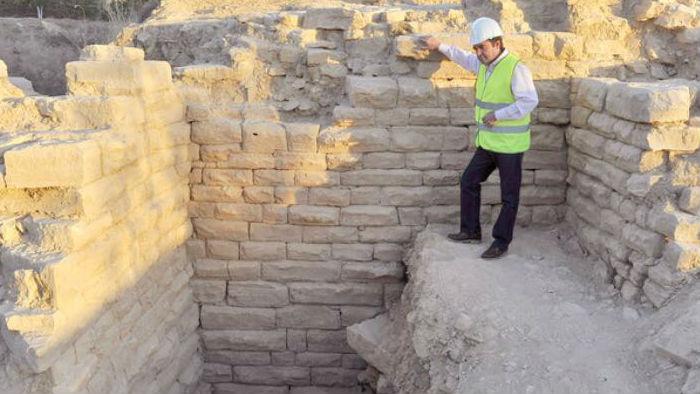 Las dimensiones del anfiteatro ha sorprendido al equipo de arqueólogos que llevan a cabo los trabajos