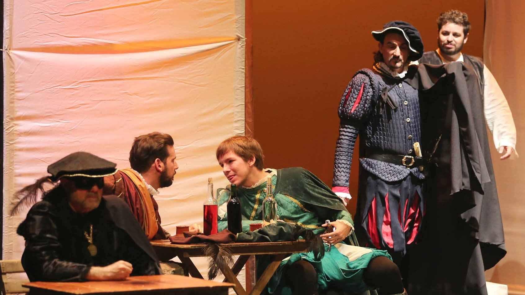 El 11 de noviembre Guate Teatro representa escenas del Tenorio en la Hostería del Laurel