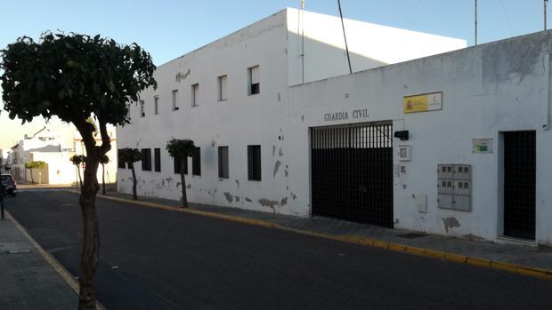 Cuartel de la Guardia Civil en Bollullos de la Mitación