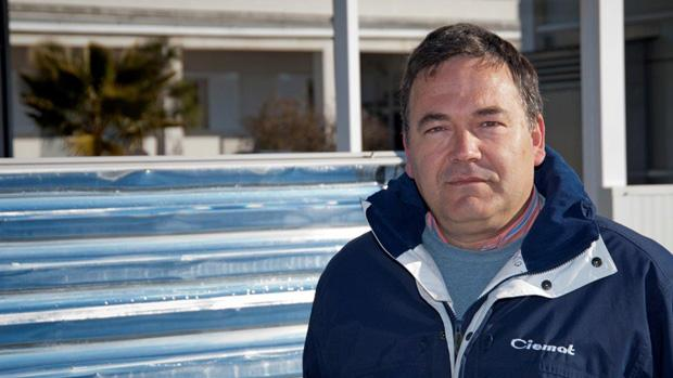 Sixto Malato, exdirector de la Plataforma Solar de Almería