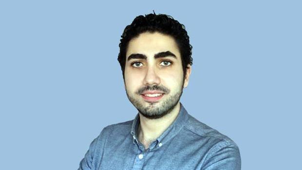 Nazeer Diab, estudiante sirio de la Universidad de Almería