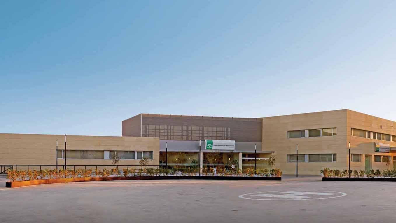 El Hospital de Utrera es el centro sanitario de referencia en la comarca