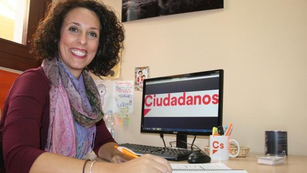 La portavoz de Ciudadanos, Rosa Carro, pide al gobierno local un debate sobre los presupuestos