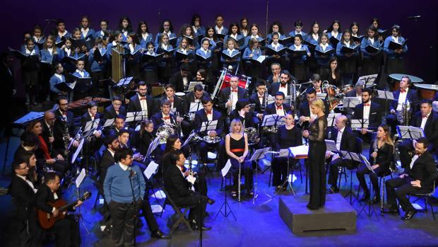 Los músicos regalaron momentos muy emotivos a todos los asistentes