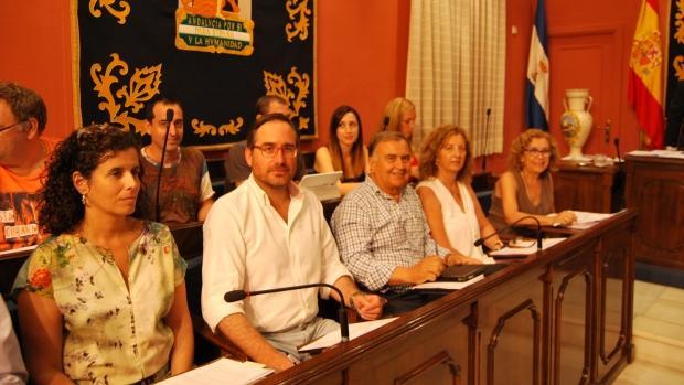 Los concejales del Grupo Municipal del PP de Alcalá