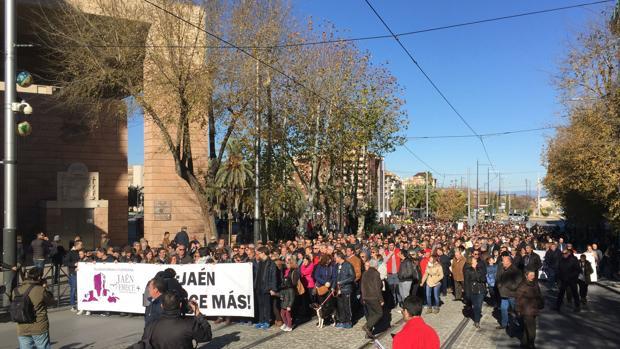 Manifestación del 17 de diciembre convocada por Jaén merece más