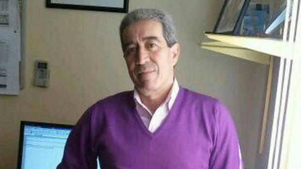 Francisco Javier Gómez, ex alcalde de Huesa