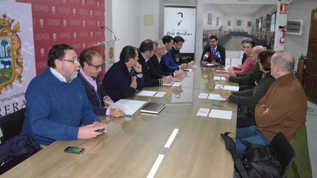La primera reunión del consejo asesor del «Año Cultural Abate Marchena»