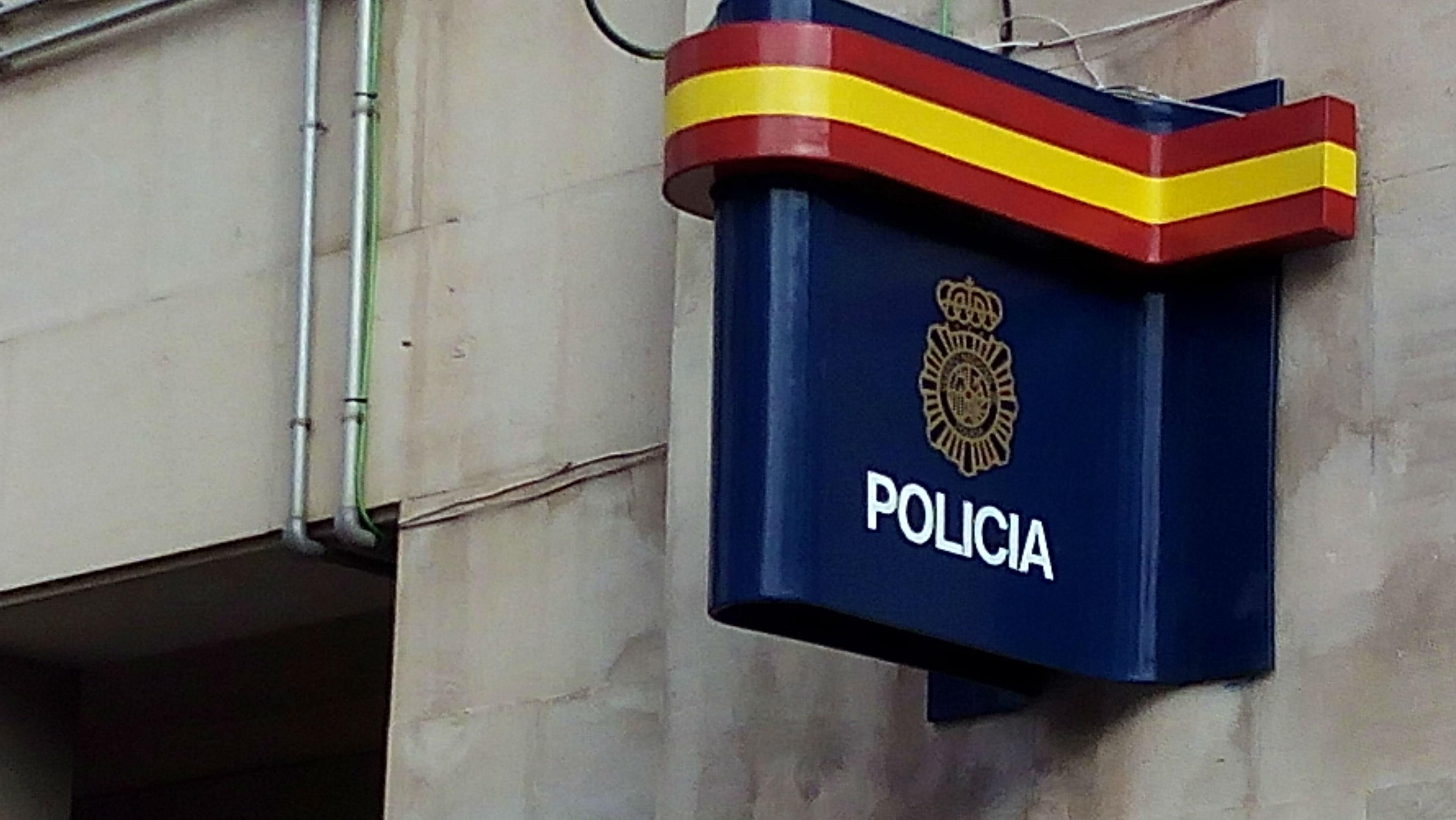 Sede la comisaría de la Policía Nacional en Jaén.