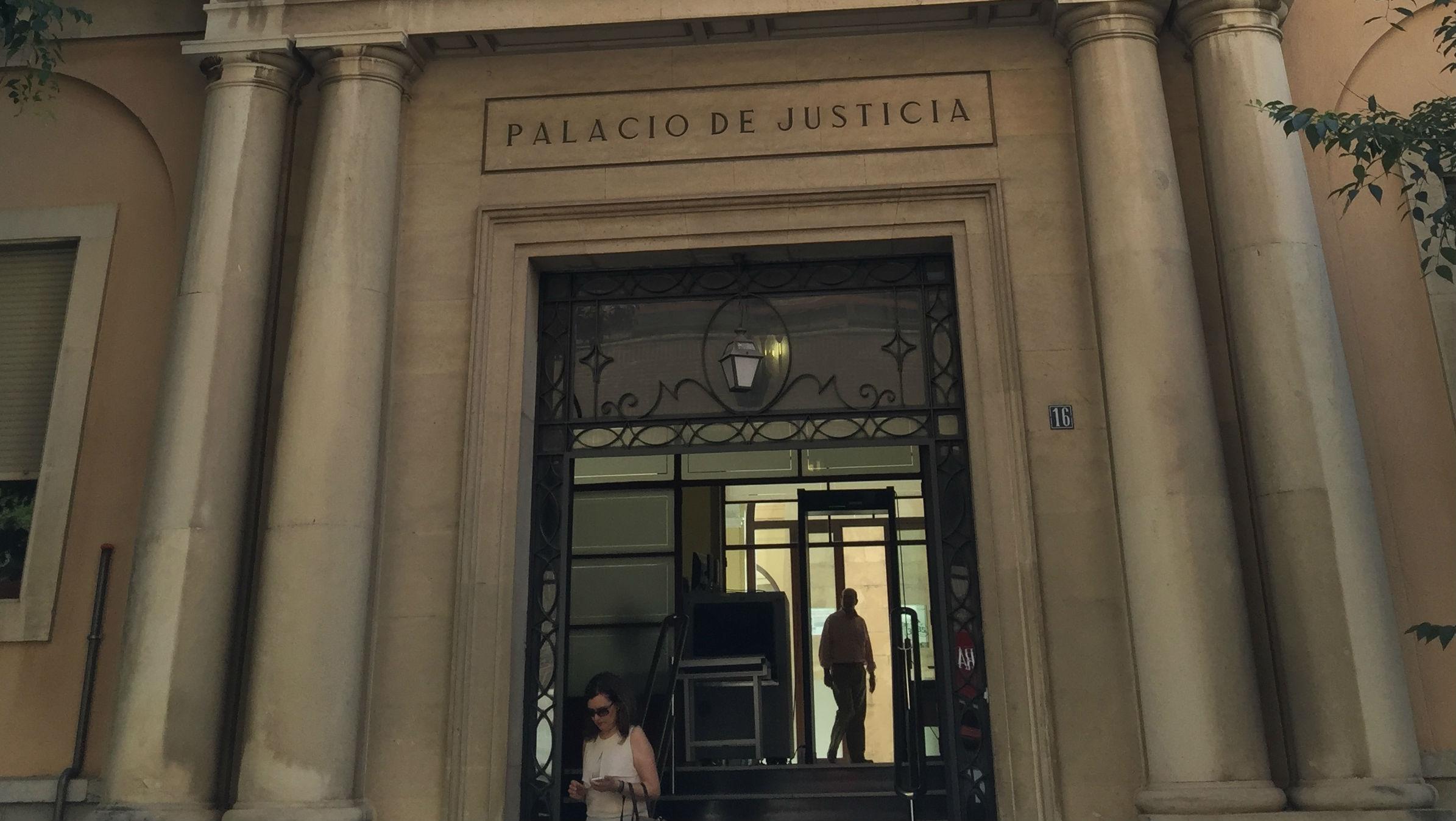 Sede de la Audiencia Provincial de Jaén.