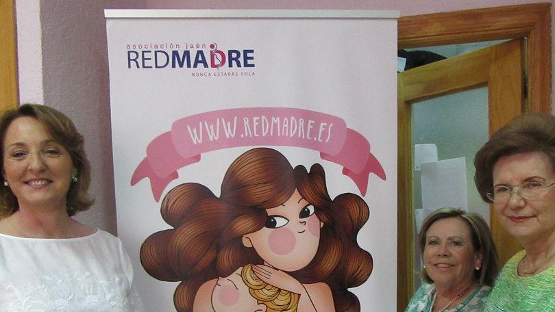 Voluntarias de Red Madre en Jaén, asociación que ayuda a las mujeres embarazadas