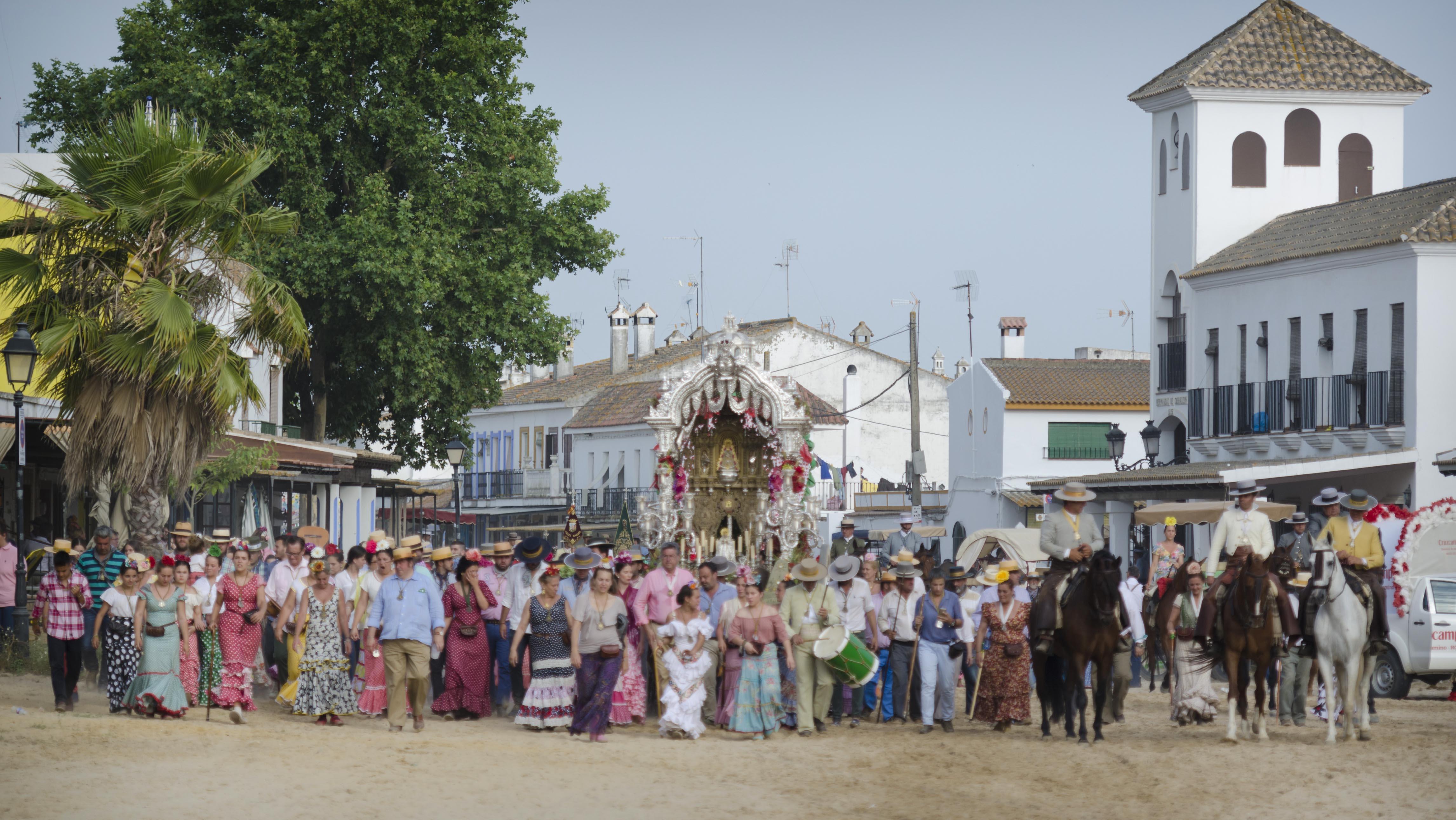 La Hermandad del Rocío de La Macarena - Sevilla en la pasada romería