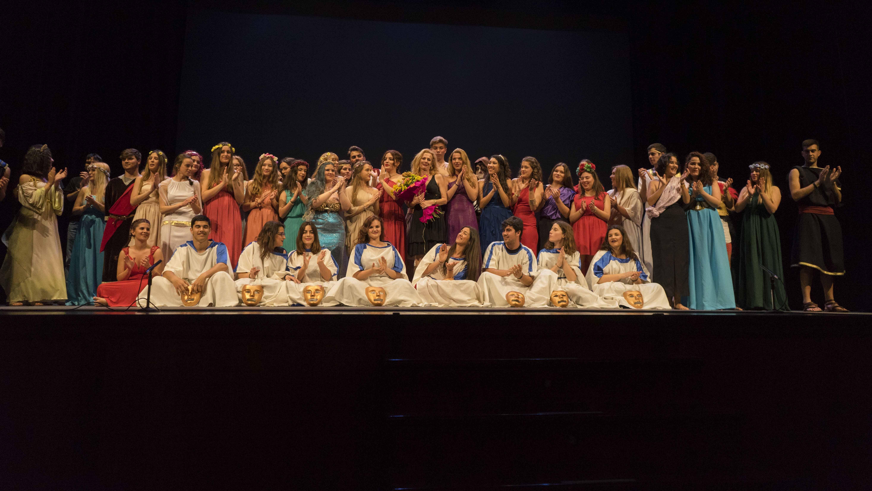 Las representaciones se realizan en el teatro municipal Enrique de la Cuadra