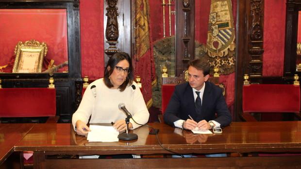 María Francés y Juan Antonio Fuentes, dos de los concejales encausados