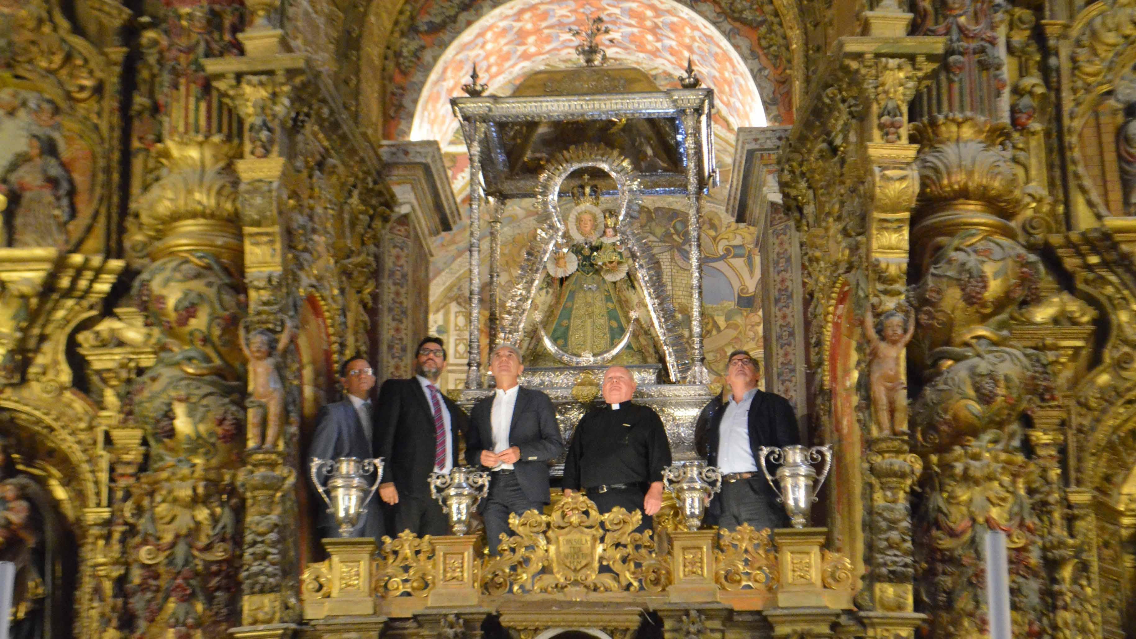 El arreglo total del retablo de Consolación costará 700.000 euros