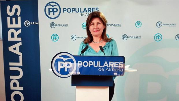 La parlamentaria andaluza del PP de Almería Rosalía Espinosa